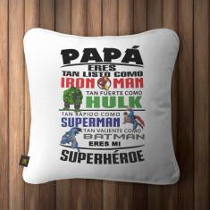 Cojin Papá Superheroe
