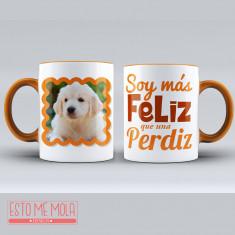 Taza Perro Feliz