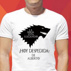 Camiseta Boda is coming