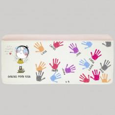 Billetero profe manos niños