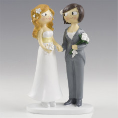 Figura de pastel para boda...
