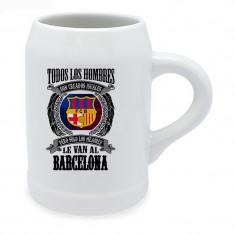 Jarra de ceveza del Barcelona