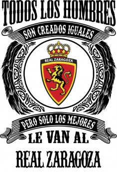 Jarra de ceveza Real Zaragoza