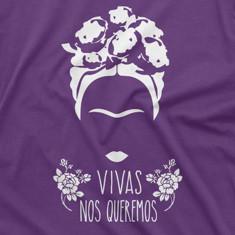 Camiseta feminista vivas nos queremos