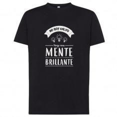 Camiseta Mente brillante