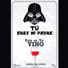 Botella vino tinto Galactico