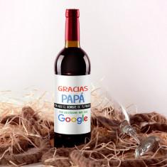 Botella vino tinto Papá Google