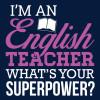 Taza prófe inglés con superpoderes