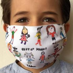 Mascarilla personalizada niños