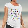 Camiseta manos personalizada