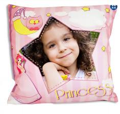 Cojin princesa personalizable