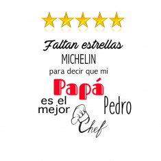 Delantal Padre Michelin