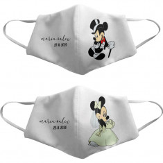 Pack Mascarilla Novios Mickey