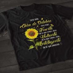 Camiseta girasol nacida en