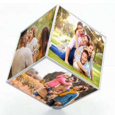 Cubo fotos giratorio