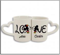 Set taza duo love