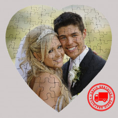 Puzzle corazón 75pcs